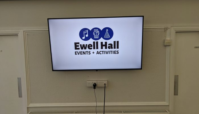 Hall Monitor with Wi-Fi and wired HDMI connectivity