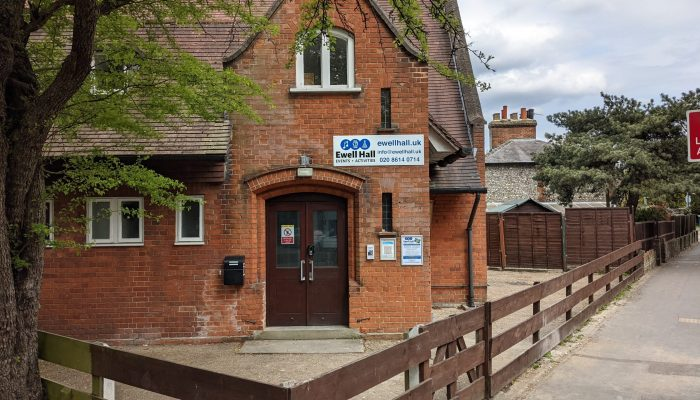 Ewell Hall Main Entrance