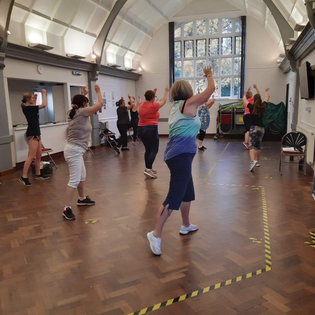 Extend Dance Class - Shape Move